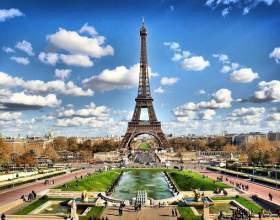 Париж - столица франции фото