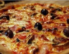 """Пицца """"4 сыра"""" по-итальянски фото"""