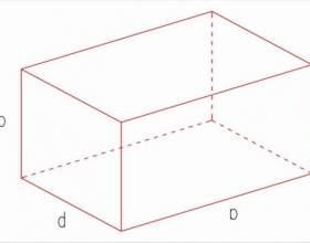 Площадь параллелепипеда: как найти фото