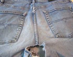 Почему джинсы часто рвутся между ног и как этого избежать фото