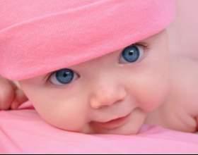 Почему меняется цвет глаз у младенца фото