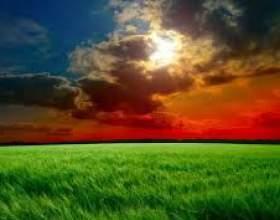 Почему небо меняет цвет? фото
