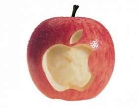 Почему у apple знак яблока фото