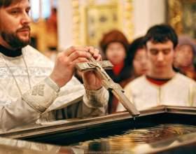Почему в ночь на крещение не вся вода святая фото
