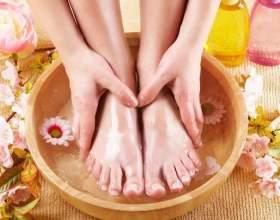 Полезные ванночки для ног фото