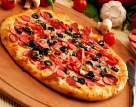При какой температуре выпекать пиццу фото