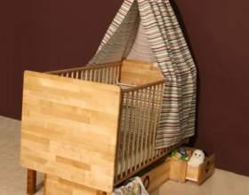Приданое для новорожденного: люлька или кроватка фото