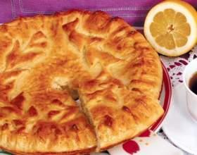 Приготовление лимонного пирога фото