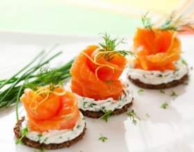 Приготовление закусок: гречневые канапе фото