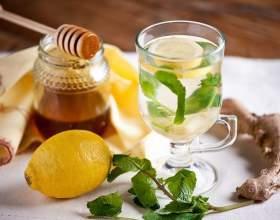 Простой рецепт имбирного чая фото