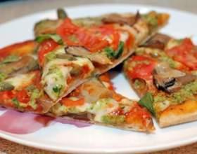 Простой рецепт пиццы с грибами фото