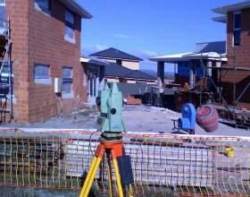 Проведение геодезических работ перед началом строительства фото