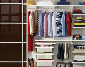 Раздвижные двери для гардеробной комнаты: плюсы и минусы фото