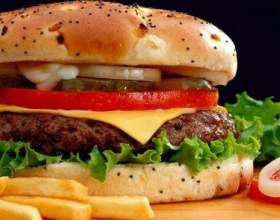 Рецепт диетического гамбургера фото