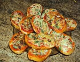 Рецепт горячих бутербродов фото