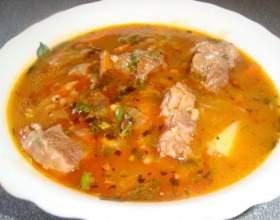 Рецепт супа харчо фото