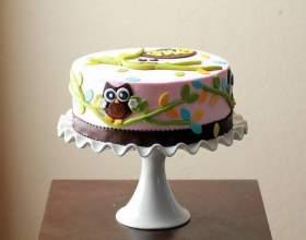 Рецепт торта с мастикой: секреты удачного украшения фото