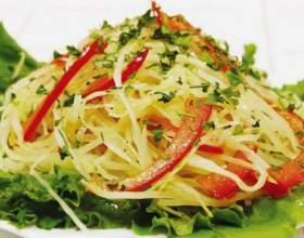 Рецепты салатов с капустой фото