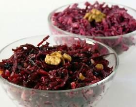 Салат из свеклы: рецепт фото