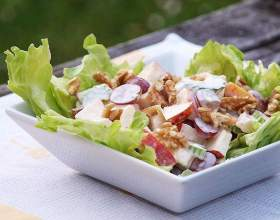 Салат низкокалорийный овощной фото