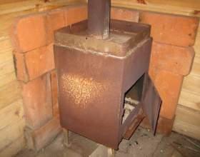 Самодельная печь для дачи фото
