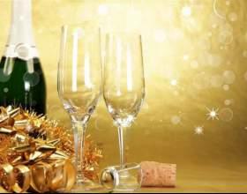 Шампанское на новый год: как оформить красиво фото