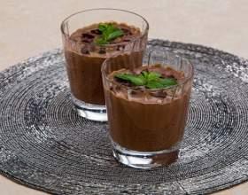Шоколадный кисель фото