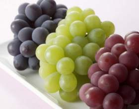 Сколько калорий в разных сортах винограда фото