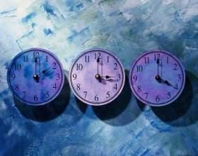 Сколько существует часовых поясов фото