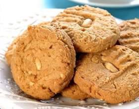 Сливочное печенье с кешью фото