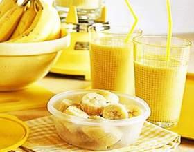 Смузи банановый с сельдереем фото