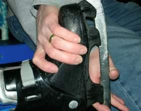 Как почистить коньки фото