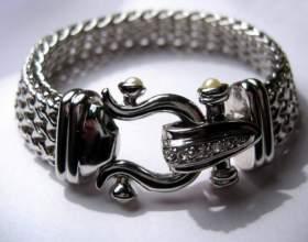 Как чистить серебряные браслеты фото