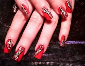 Как делать наращивание ногтей на формы фото