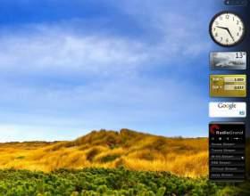 Как добавить мини приложения на боковую панель фото