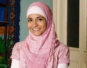 Как надеть платок мусульманке фото