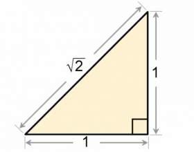 Как найти катет в прямоугольном треугольнике фото