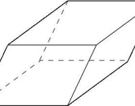 Как найти площадь боковой поверхности параллелепипеда фото