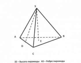 Как найти высоту в треугольной пирамиде фото
