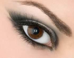 Как накрасить красиво глаза черным карандашом фото
