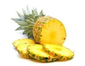 Как нарезать ананас на стол фото