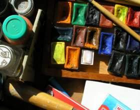 Как нарисовать картину красками фото