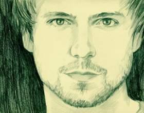 Как нарисовать лицо мужчины фото