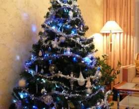 Как нарядить новогоднюю елку фото