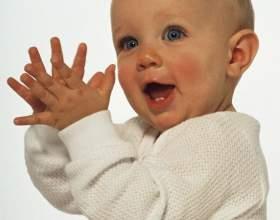 Как научить ребенка играть в ладушки фото
