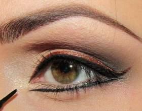 Как научиться рисовать стрелки на глазах фото