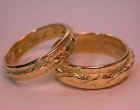 Как носить обручальные кольца фото