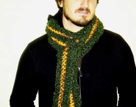 Как носить шарф мужчинам фото