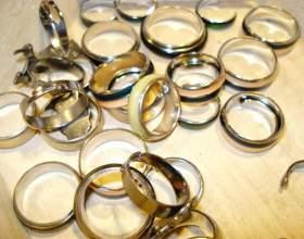 Как носить золотые кольца фото