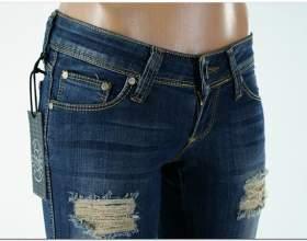 Как обновить старые джинсы фото